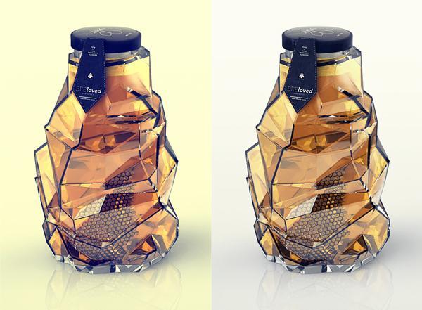 beeloved蜂蜜包装设计