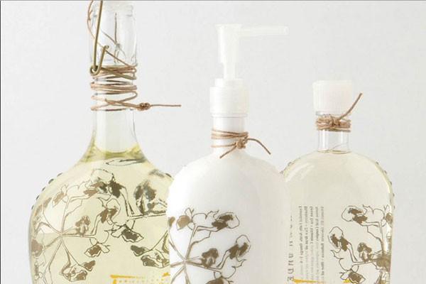 艺术感超强的瓶子包装设计图片