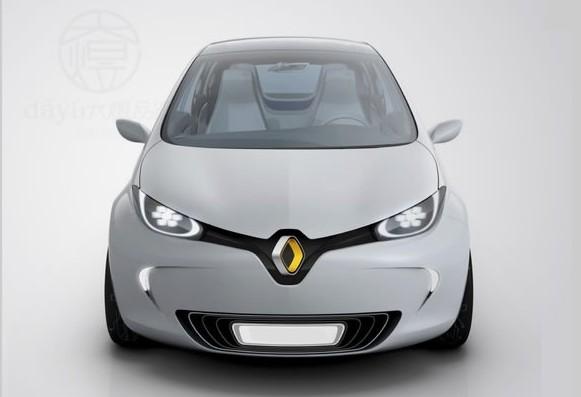 法国雷诺汽车最新标志设计欣赏高清图片