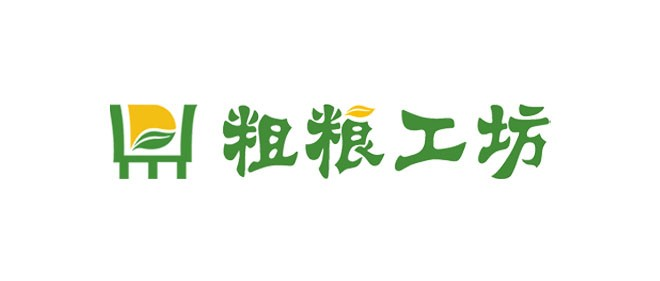 粗粮工坊的logo设计及vi设计图片